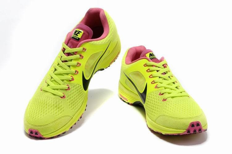 Nike Lunarspider LT+ 2 Mens Fluorescence Yellow Black Shoes