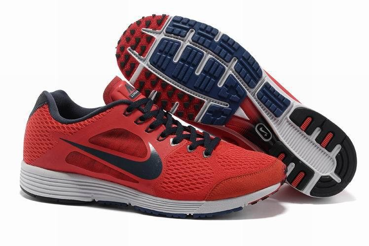 Nike Lunarspider LT+ 2 Mens Red Black Running Shoes