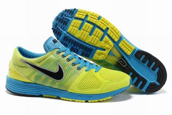 Nike Lunarspider LT+ 2 Mens Volt Black Photo Blue Running Shoes