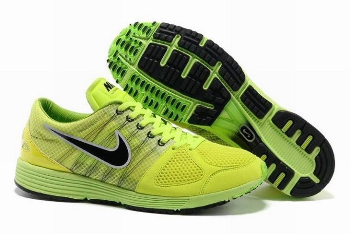 Nike Lunarspider LT+ 2 Mens Volt Black Silver Running Shoes