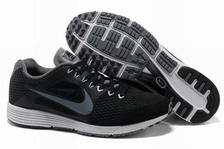 Nike Lunarspider LT+ 3 Mens Black Cool Grey Running Shoes