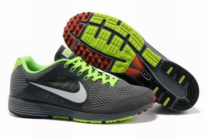 Nike Lunarspider LT+ 3 Mens Dark Grey White Volt Running Shoes