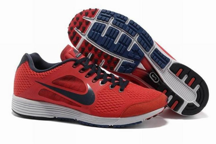 Nike Lunarspider LT+ 3 Mens Varsity Red Obsidian Running Shoes