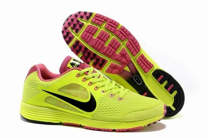 Nike Lunarspider LT+ 3 Mens Volt Black Running Shoes