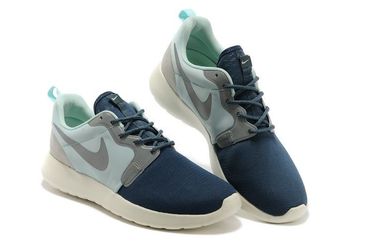 Nike Roshe Run HYP QS Mens Runinng Shoes Alice Blue Navy