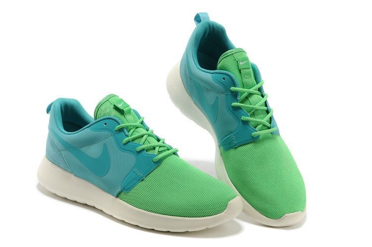 Nike Roshe Run HYP QS Mens Runinng Shoes Lime Turquoise