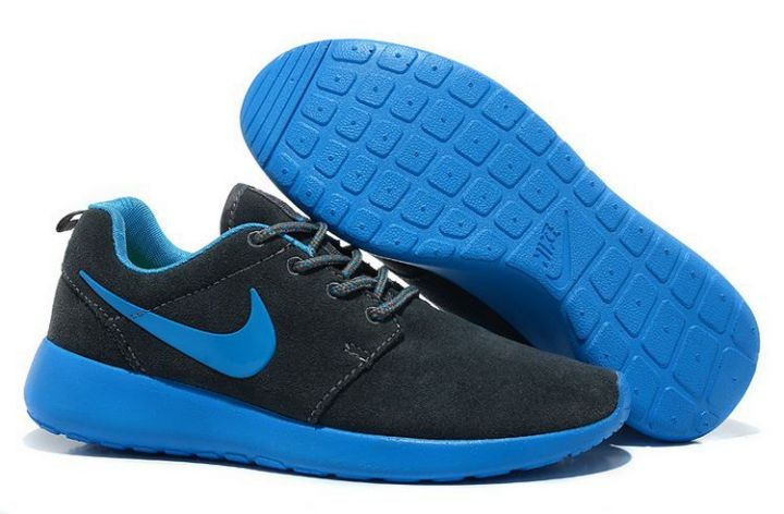 Nike Roshe Run Womens Running Shoes Dark Blue