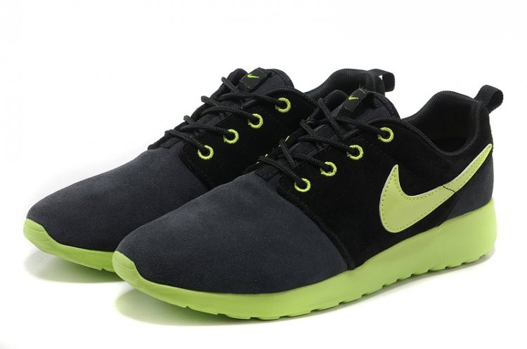 Nike Roshe Run Women's Shoe Black Green