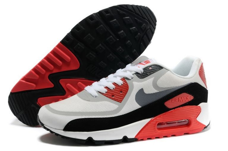 Womens Nike Air Max 90 Premium Tape Runinng Shoes Infrared