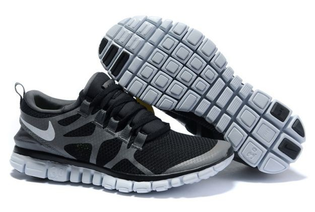 Womens Nike Free 3.0 V3 Anthracite/Grey-White Running Shoes