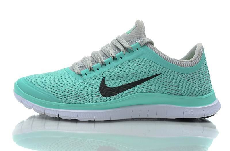 Womens Nike Free 3.0 V5 Mint Green Running Shoes