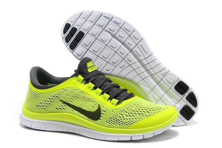 Womens Nike Free 3.0 V5 Volt Running Shoes