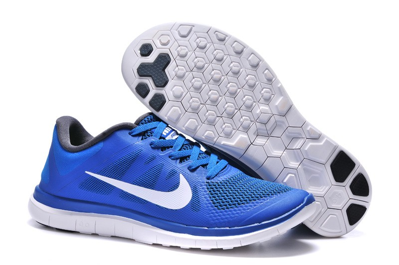 Womens Nike Free 4.0 V4 Royalblue Running Shoes