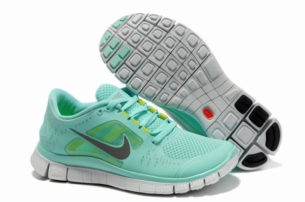 Womens Nike Free 5.0 V3 Mint Green Running Shoes
