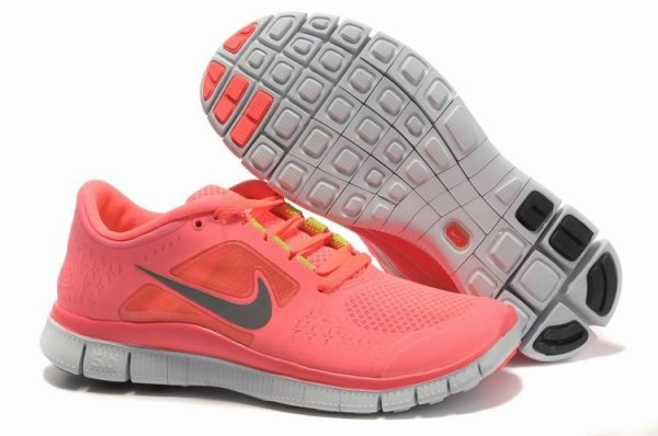 Womens Nike Free 5.0 V3 Watermelon Red Running Shoes