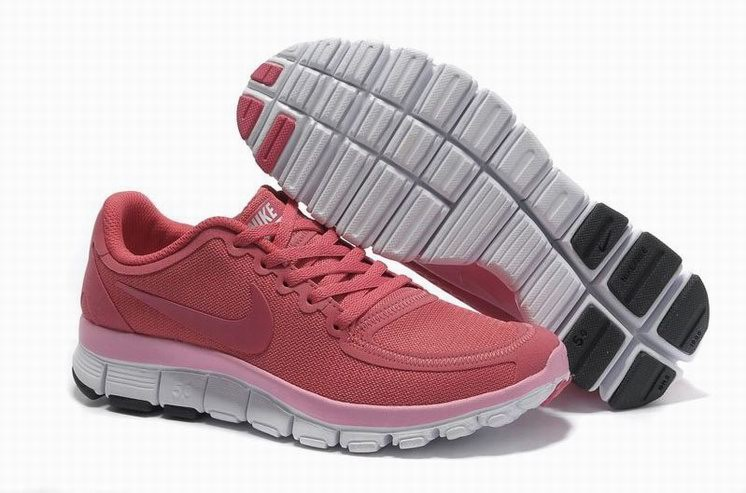 Womens Nike Free 5.0 V4 Pink Running Shoes