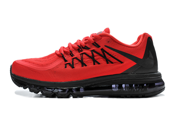 Air Max 2015 Men Red Black