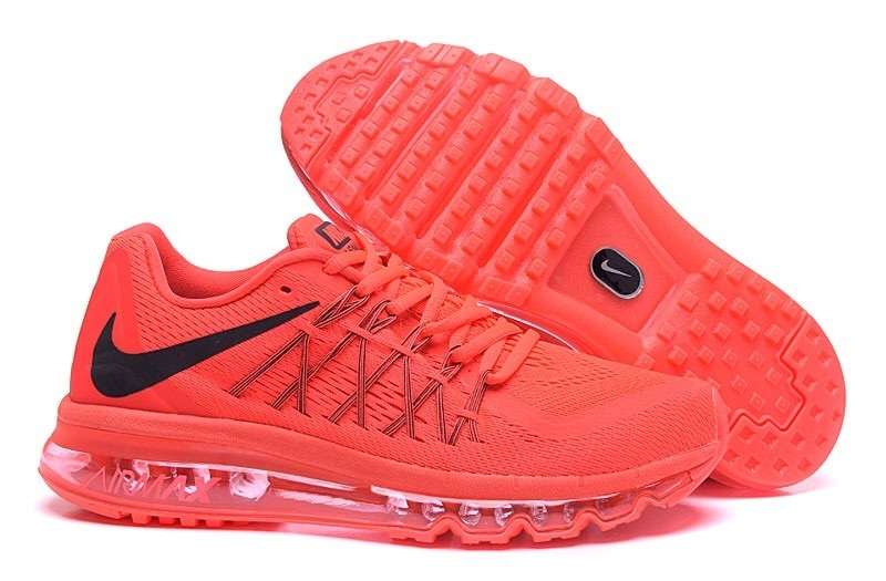 Air Max 2015 Nike Men Running Shoes Red