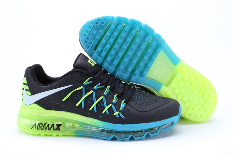 Nike Air Max 2015 II Men Black Blue Green