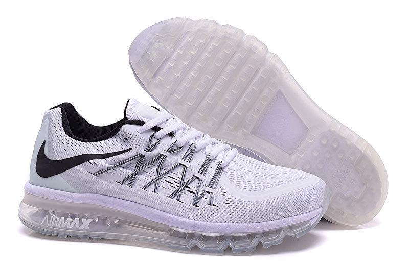 Air Max 2015 Nike Men Running Shoes White