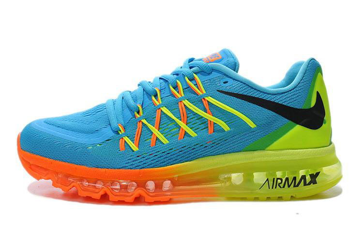 Air Max 2015 Blue Orange Yellow Green