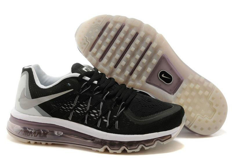 Air Max 2015 Mens Black White