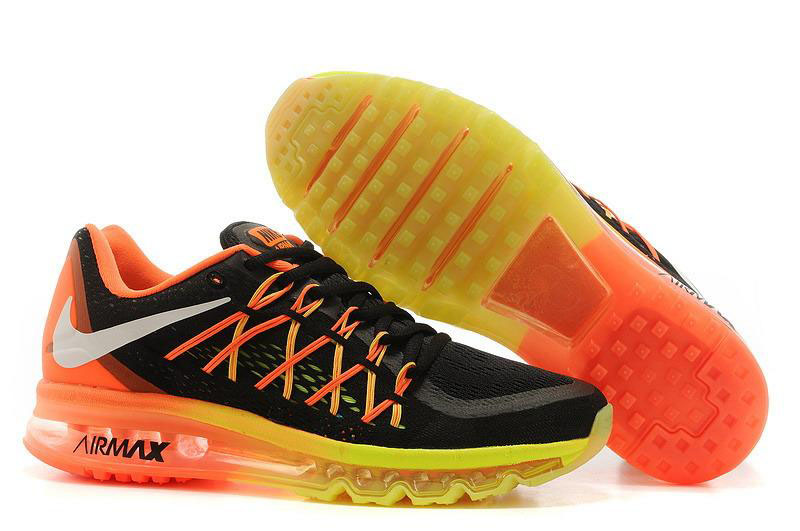 Air Max 2015 Orange Black Yellow
