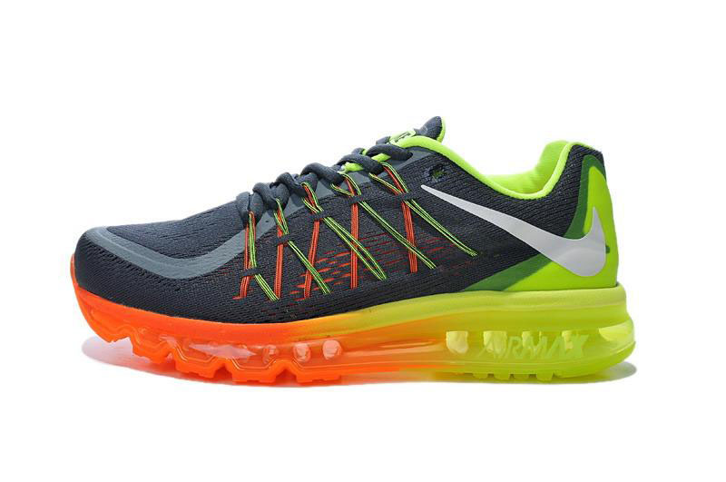 Air Max 2015 Orange Green Grey