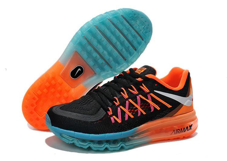 Air Max 2015 Orange Purple Black Blue