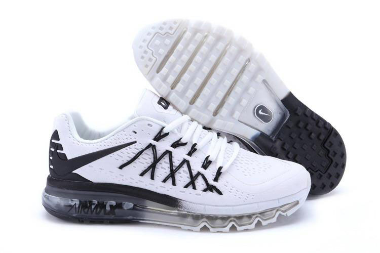 Air Max 2015 White Black