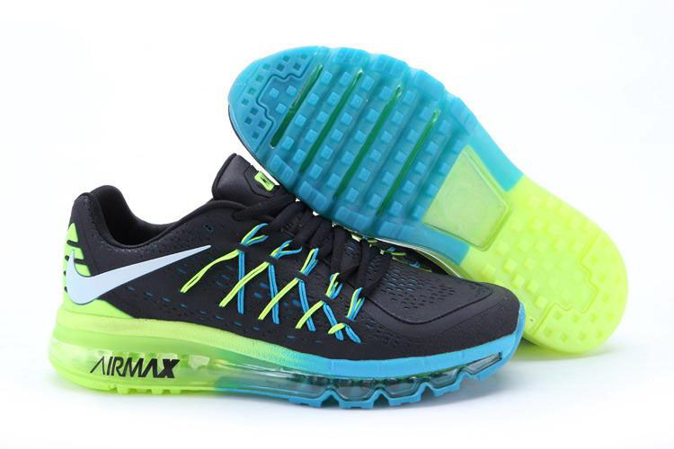 Nike Air Max 2015 Blue Black Green