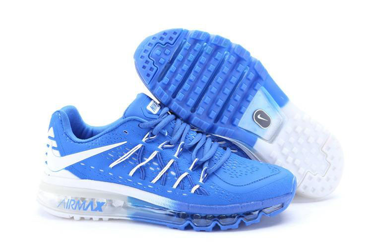 Nike Air Max 2015 White Blue
