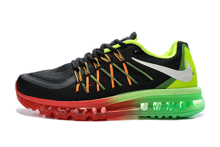 Air Max 2015 Women Black Green Red