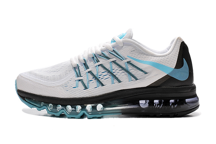 Air Max 2015 Women White Blue Black
