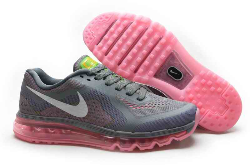 Discount Nike Air Max 2015 Women Running Shoes - Deep Gray Pink DX518264