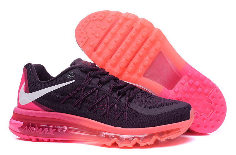 Nike Air Max 2015 Shoes For Women Black Orange
