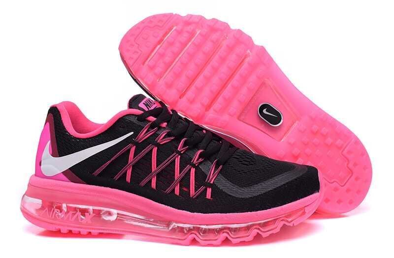 Nike Air Max 2015 Shoes For Women Black Pink