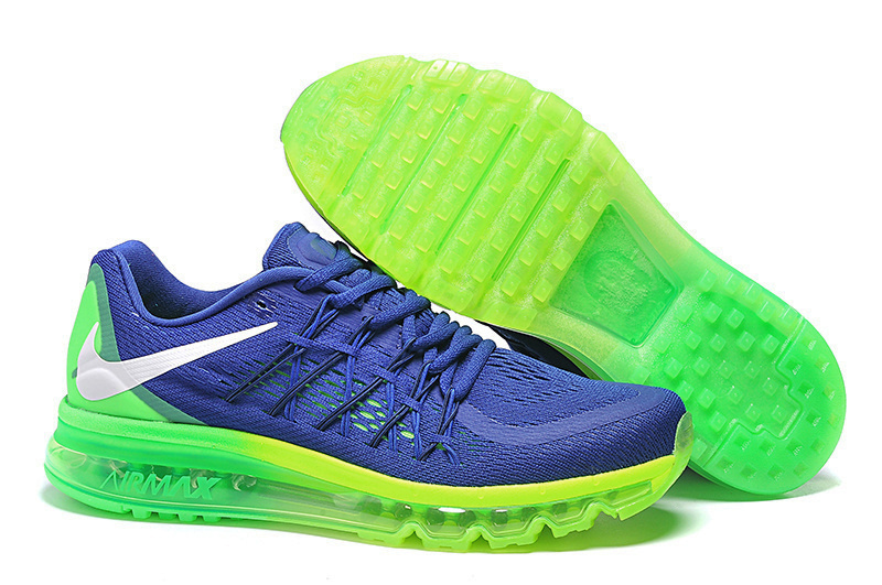 Nike Air Max 2015 Shoes For Women Deep Blue Green