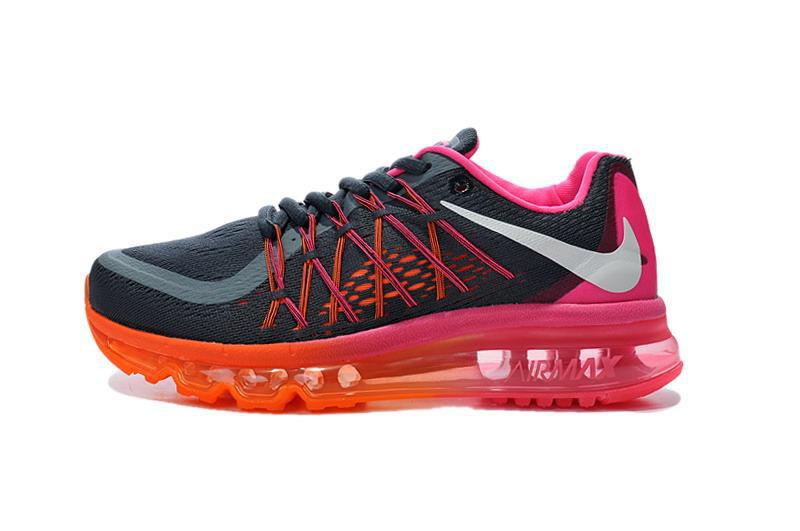 Air Max 2015 Pink Orange Black Red
