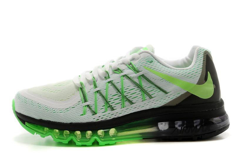 Air Max 2015 White Green Black
