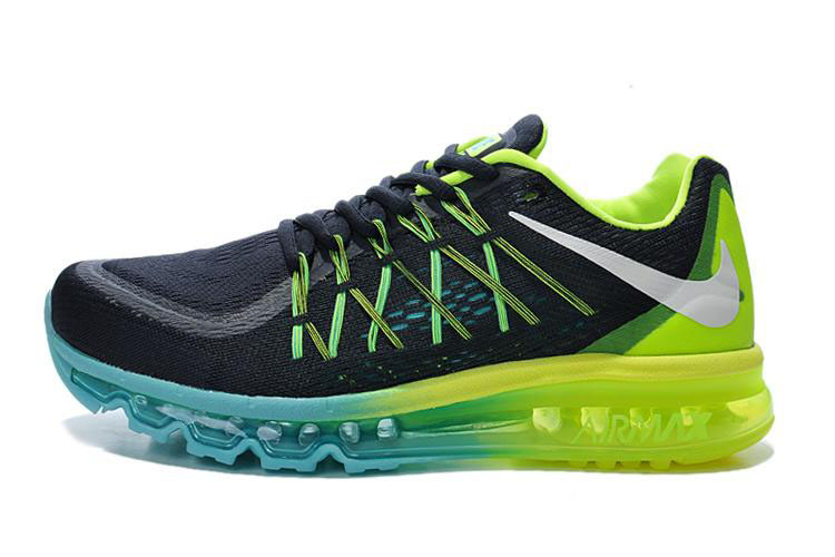 Air Max 2015 Women Black Green Blue