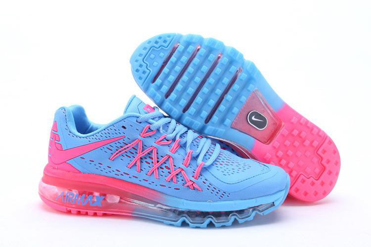 Air Max 2015 Women Blue Pink