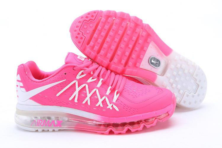 Air Max 2015 Women Pink White