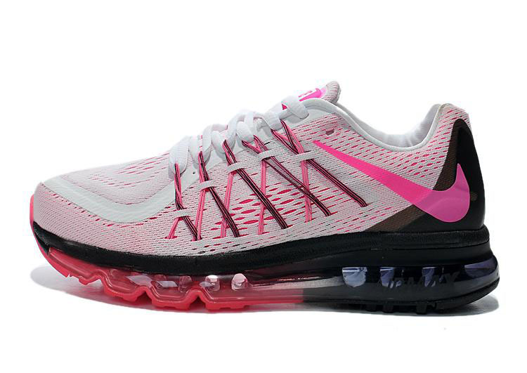 Air Max 2015 Women Pink White Red Black