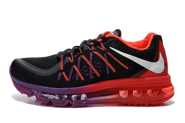 Air Max 2015 Women Red Black Purple