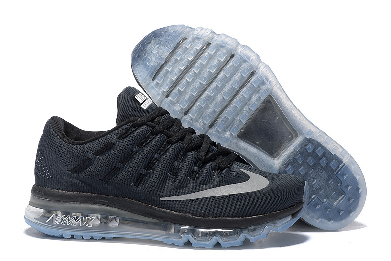 Nike Air Max 2016 Men's Running Shoes Black