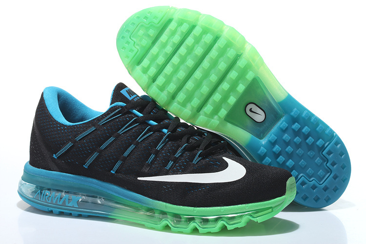 Air Max 2016 Black Blue Grass green