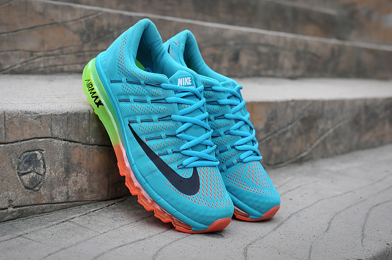Air Max 2016 Blue Green Orange