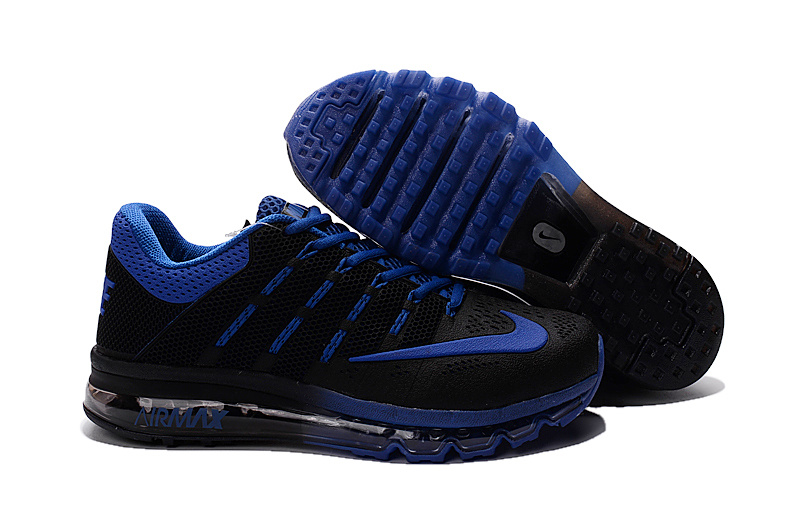 Air Max 2016 Nike Men's Running Shoes Black Blue