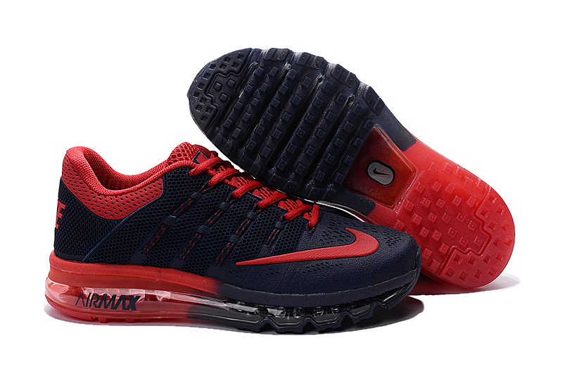 Air Max 2016 Nike Men's Running Shoes Black Red